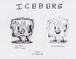 Iceberg Logo Remastered (100th deviation!) by MeesterTweester