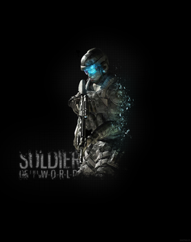 Soldier Of The New World by M4DMANGFX