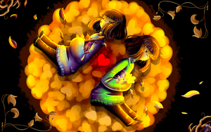 [UNDERTALE] Anniversary : Three Years Later {GIF} by draniae