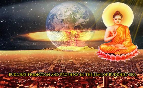 Buddha's prediction and prophecy. by LonelySitlentAngel