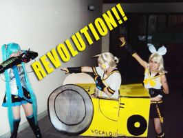 VOCALOID- Revolutionary Twins2 by cosplayluvx3