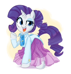 Mamechi's Rarity's Dress by Adequality