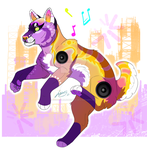 Rave Husky Adopt - OPEN by XxBattleLionessxX