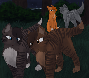 Don't trust him, Brambleclaw... by CascadingSerenity
