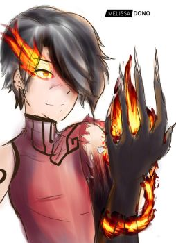 Cinder Fall  - Real power by melissa-dono