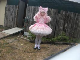 My most frilly party dress :) by HinaYui