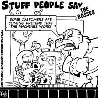 Stuff people say 265 by FlintofMother3