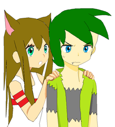 What's Wrong kyoya and NyanNyanKitty13 by NyanNyanKitty13