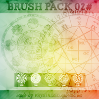 brush pack 0 2 # - astrology brushes by itskrystalized