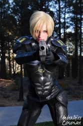 Sergeant Calhoun of Disney's Wreck it Ralph by AmberSkiesCosplay