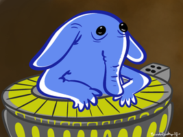 Max Rebo by rachetcartoons