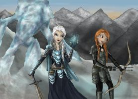 Sisters of Skyrim by incetcan