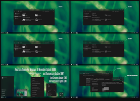Aero Dark Theme Win10 Fall Creators by Cleodesktop