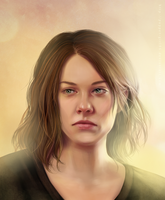 Maggie Greene by Puppet-Girl86