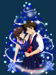 Secret Santa: Blue Christmas by ota-chan