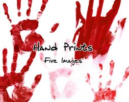 Bloody Hand Prints Pack by Zeds-Stock