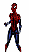 Spider-Girl drawn on Droid X by viscid2007