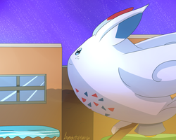 Togekiss by LavendarDay