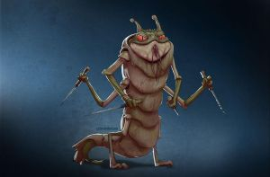 Frogprawn by charco