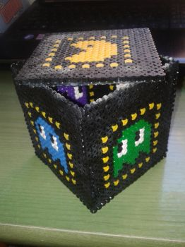 Hama Beads Packman Box by KirielIsi