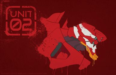 Gainax Series | EVA Unit 02 by argibi