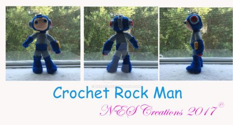Crochet Rock Man 2017 by Zero23