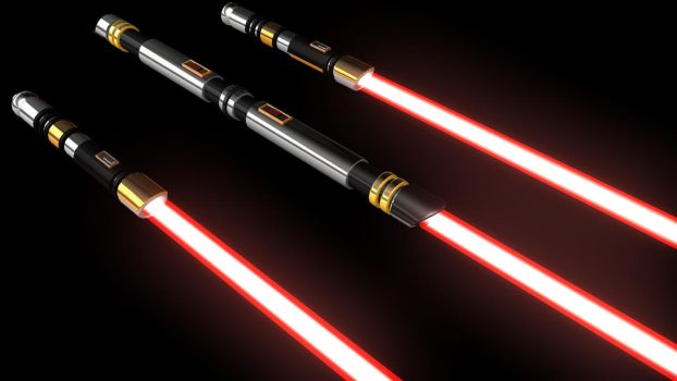 Sith acolyte lightsabers by testabuddy05