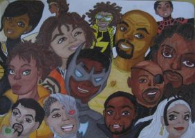 Fight for black peoples' respect by LyceeauxsecretsNarut
