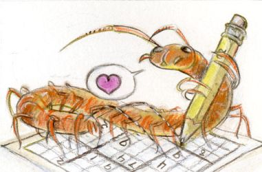 House Centipede Love Sudoku by skulldog