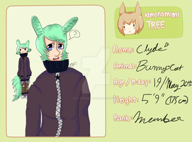 Clyde Application (for Kemonomimi Tree) by DoctorFabulous