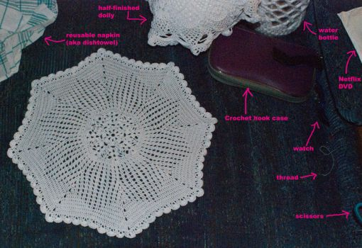 Extraordinary Doily + stuff by kalany