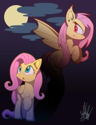 Flutterbat Unleashed -T-Shirt Entry- by Fuzon-S