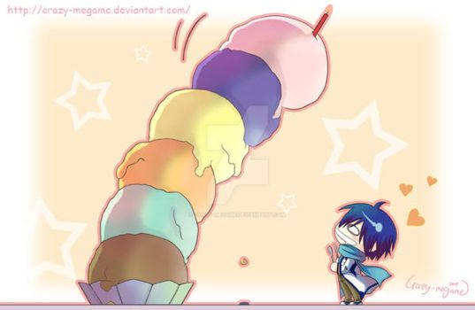 Kaito's Birthday Present by Crazy-megame