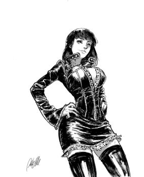 Nico Robin Inked by AnthonyGonzalesClark