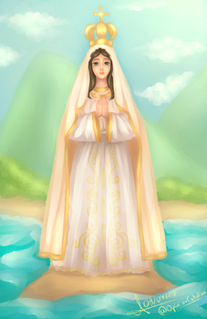 Our Lady of the Valley by Christus-Imperat