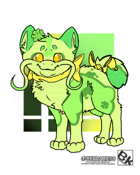 Lucky Clover Jinwa - Adopt Auction - Closed by BKcrazies0