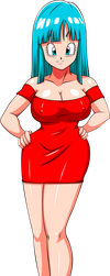 Commission: Red Dress Maron by R-Legend