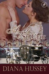 The Angel and St. Clair by CemeteryWinter