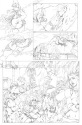 Red Sonja Test Page 02 by G-David