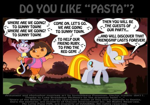Do you like ''Pasta''? by PONYMAAN