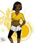 Cheer Leader Uniform by StephanieNicole1002