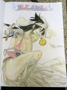 Bleach character by ScottPendragon