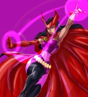 Scarlet witch by haribon
