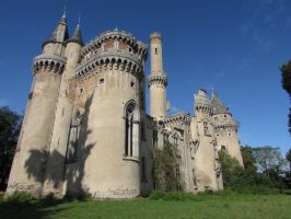 Castle IV by fairling-stock