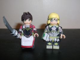 LEGO Fire Emblem Fates: Shiro and Ophelia by TommySkywalker11