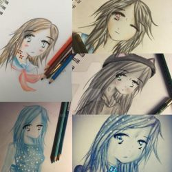 Collage of some drawings by Emily9915
