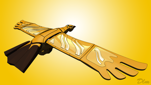 The golden condor 3d by emanon01