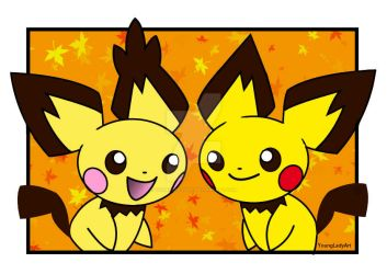 Pokemon-Pichu by YoungLadyArt