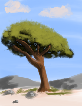 A Simple Tree by SirScrubAlot