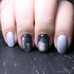 Totoro nails by ladymarengo